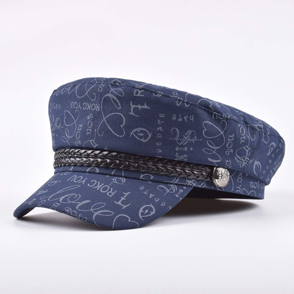 KFEK Nueva impresión de Letras Sombrero Azul Marino versión ...