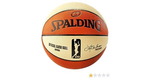 Spalding WNBA Game Ball Sz.6 74-931Z Balón de Baloncesto, Unisex ...
