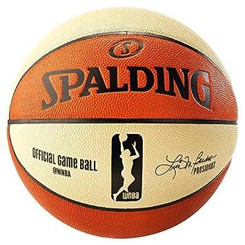 Amazon.com : Spalding Off.WNBA 6 Panel Gameball sz6, (74 ...