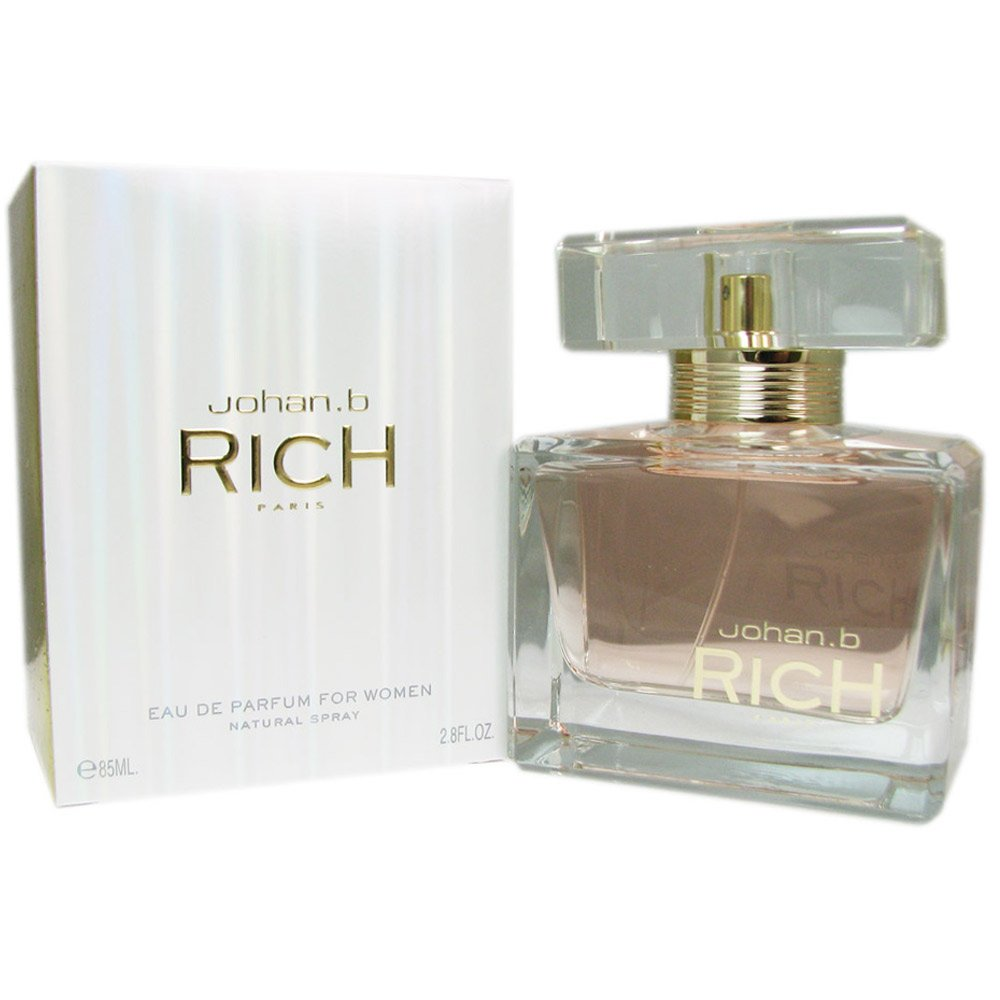 Johan B Rich Eau de Parfum Spray for Women, 2.8 Ounce