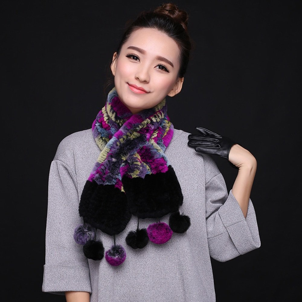 MEIDUO Bufandas y Chales Lady Scarf Tassel Fashion Elegant Warm Weaving Otoño Invierno ( Color : E )