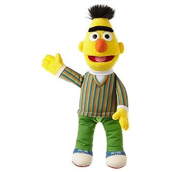 c350e84aa7 Living Puppets große Plüschfigur Bert aus der Sesamstraße 33 cm ...