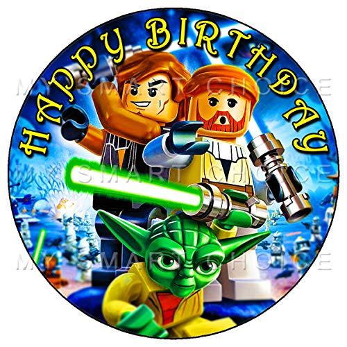 Decoración comestible para tartas de 7.5 in – Star Wars ...