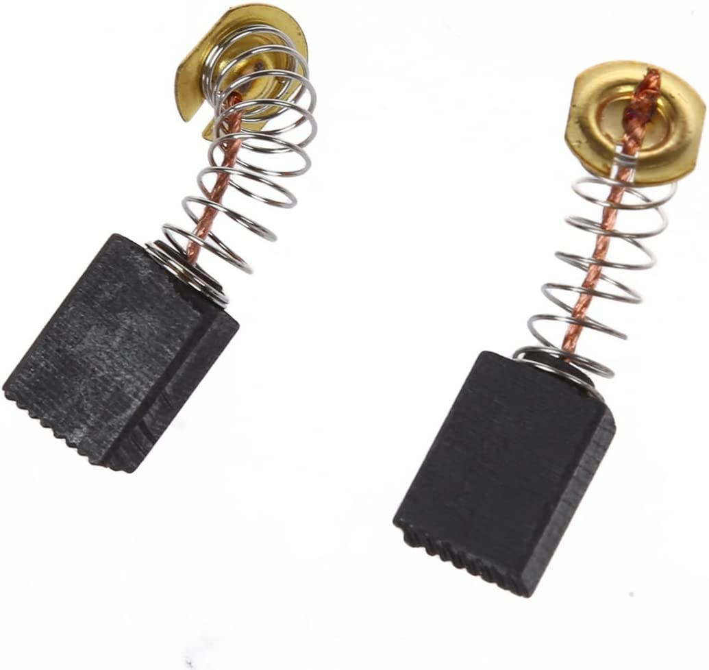 Binchil 5 pares de CB408 13 x 9 x 6 mm escobillas de carbon de potencia de la herramienta para