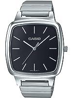 Casio Collection – Unisex-Armbanduhr mit Analog-Display und Edelstahlarmband – LTP-E117D