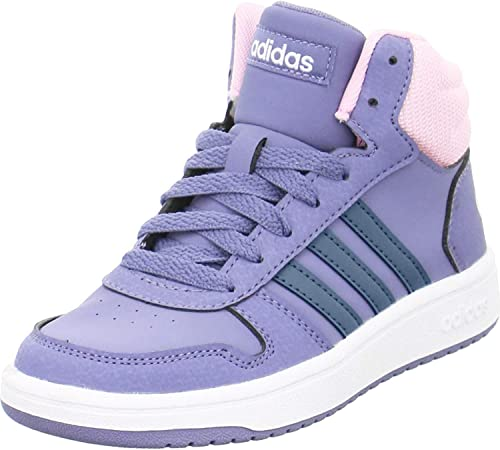 adidas Hoops Mid 2.0 K, Chaussures de Fitness Mixte Enfant