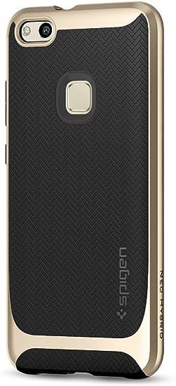 Spigen Neo Hybrid - Funda para Huawei P10 lite con Protección interna flexible y cuadro reforzado de parachoques duro, Dorado champagne (Champagne Gold): Amazon.es: Electrónica