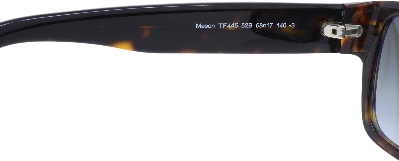 Tom Ford Sunglasses Dark Havana//Gradient Smoke 59mm FT0445-F 52B