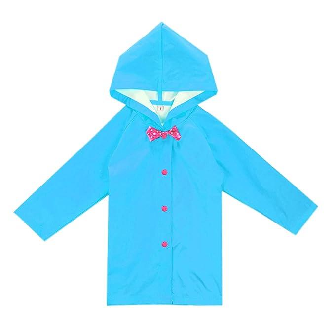 Amazon.com: Evelin LEE - Abrigo largo con capucha para niños ...