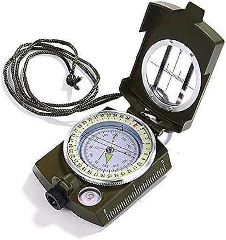 AWSAYS - Brújula de Metal Militar con Instrumento de medición ...