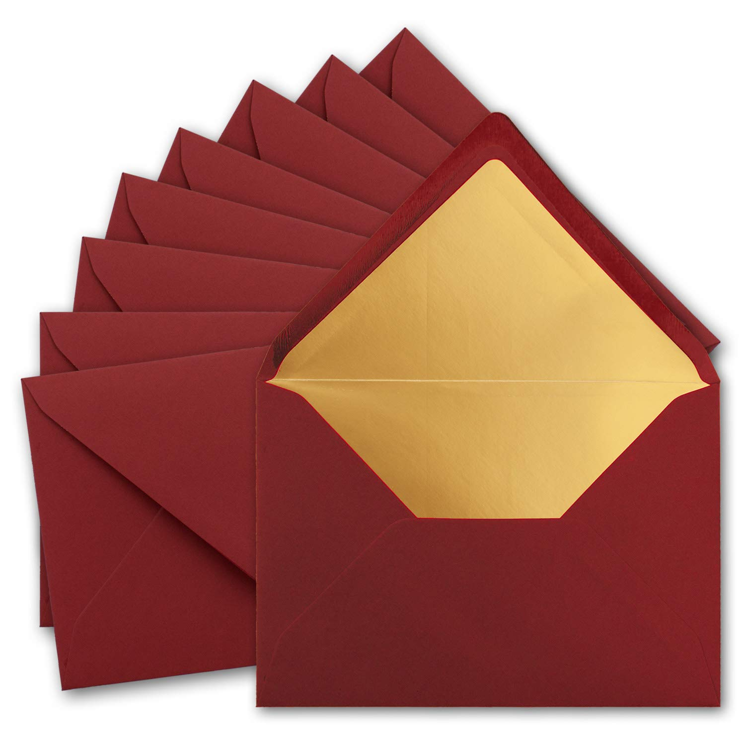 C7 White Envelopes by Cranberry Various Pack Sizes