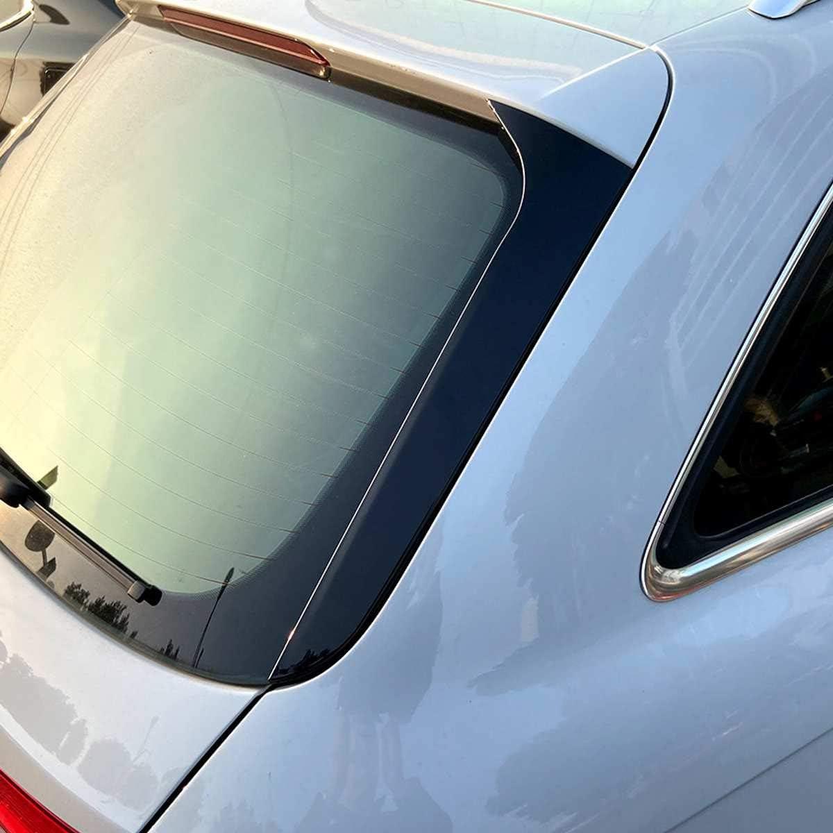 2 Pcs Arri/èRe Fen/êTre C/ôT/é Spoiler Splitter R/éNovation Pare-Brise Garniture Autocollant pour Audi A4 B8 Allroad Avant 2009-2016