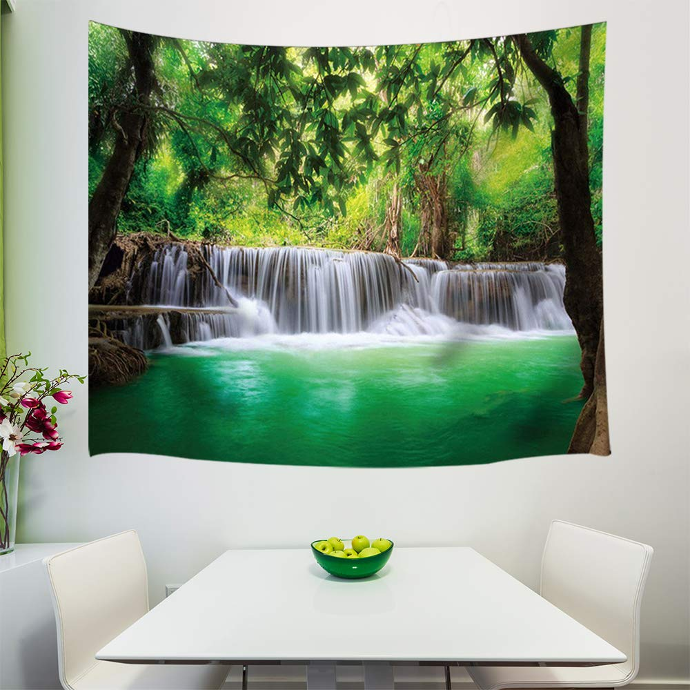 Wall Art Hanging Bedroom Living Room Dorm 71X60Inches Wall Blankets KOTOM Ancient Egyptian Hieroglyph Tapestry