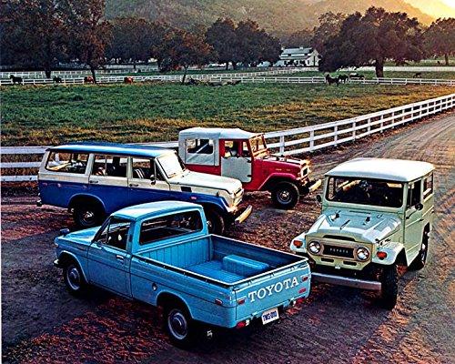 1971 Toyota Land Cruiser Pickup Truck Photo Poster