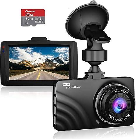 Claoner Dashcam 1080p Full Hd Dashcam Autokamera Dvr Elektronik