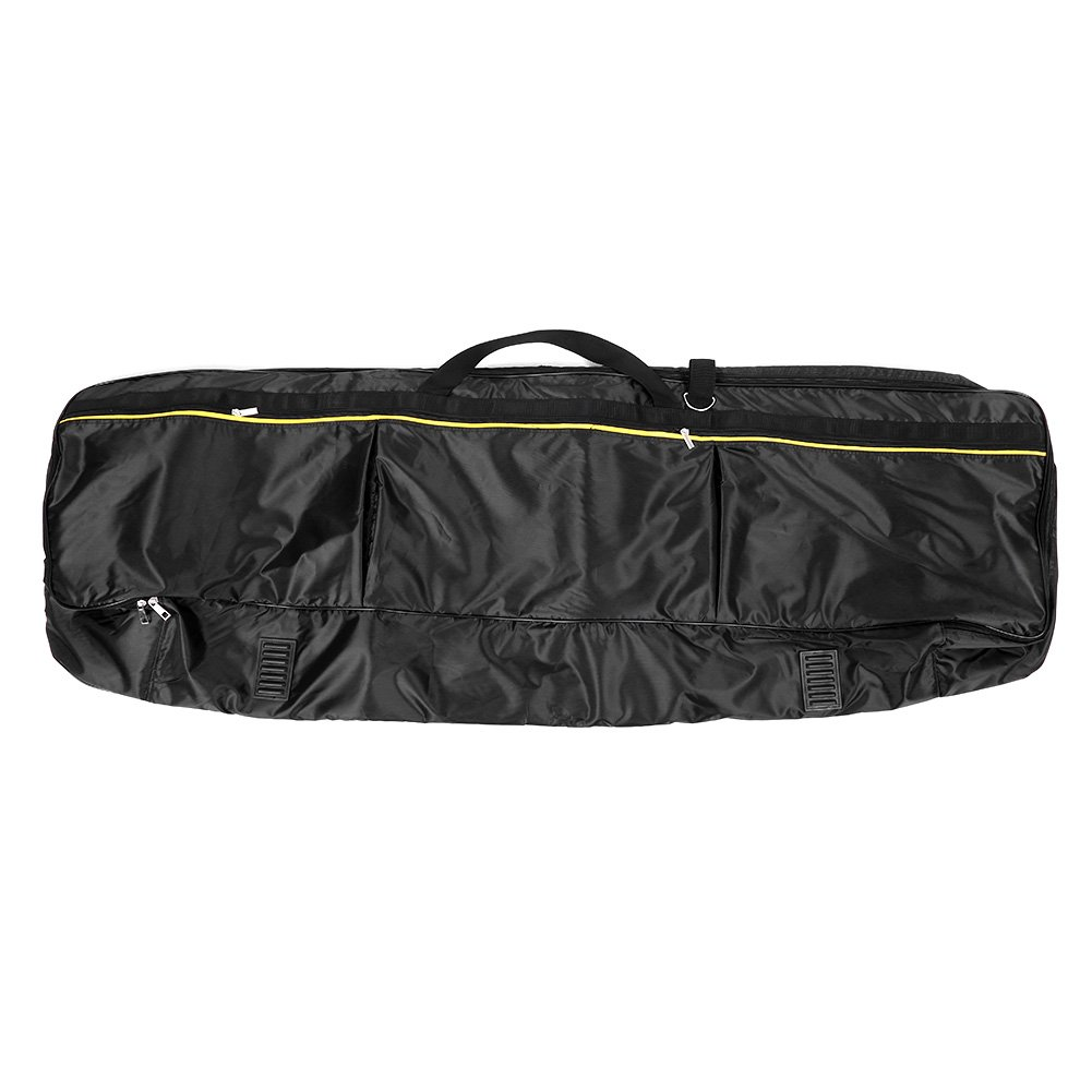 Keyboard Piano Bag, Portable Large Keyboard Bag Water Resistance Wireless Keyboard Bag Black (61 Keys) Dilwe Dilwe5wkrqac1e0-03