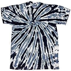 Colortone Tie Dye T-Shirt SM Twist Black