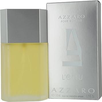 Azzaro Pour Homme L eau Eau de Toilette Spray for Him 50 ml  Amazon ... e377561a789
