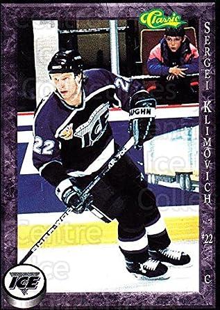 Amazon com: (CI) Sergei Klimovich Hockey Card 1994-95