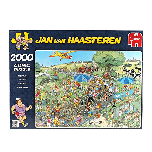 Jumbo Jan Van Haasteren The March Puzzle (2000-Piece)