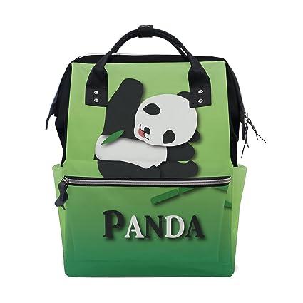 Bolsa de pañales para mamá, bolsa de pañales de gran capacidad, mochila de viaje