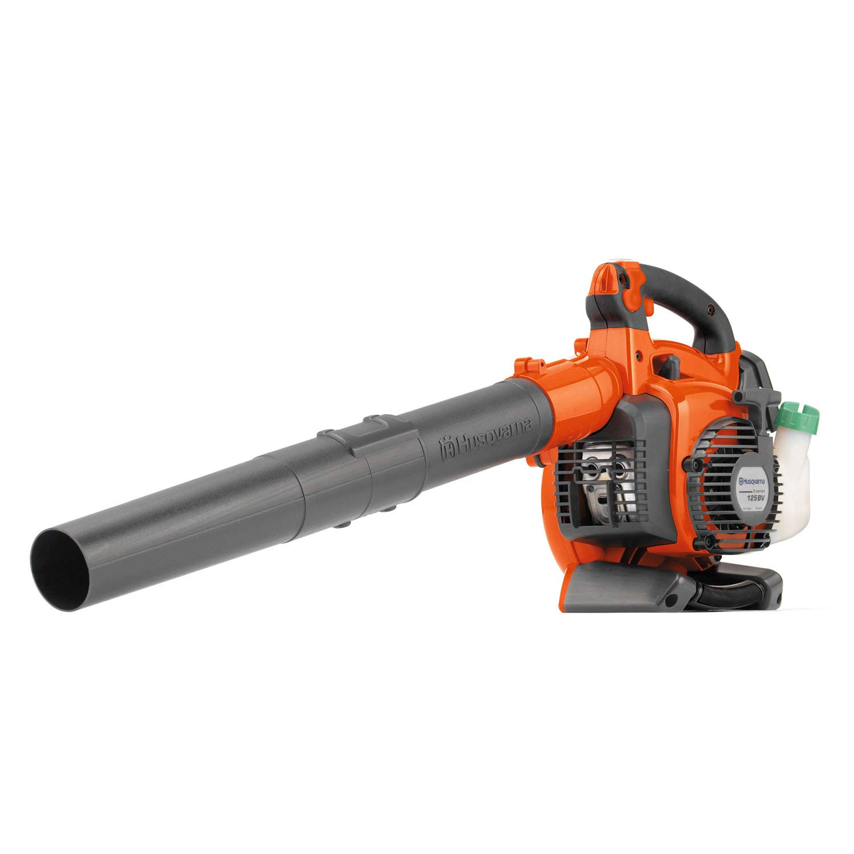 Husqvarna 125BVx, 28cc 2-Cycle Gas 470 CFM 170 MPH Handheld Leaf Blower/Vacuum - 952711902