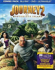 Cover Image for 'Journey 2: The Mysterious Island (Blu-ray + DVD + UltraViolet)'