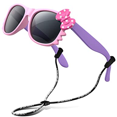 9c0a1235229 RIVBOS RBK002 Rubber Flexible Kids Polarized Sunglasses for Baby and Children  Age 3-10 (Mirrored Lens Available)(3376-pink)  Amazon.in  Clothing   ...