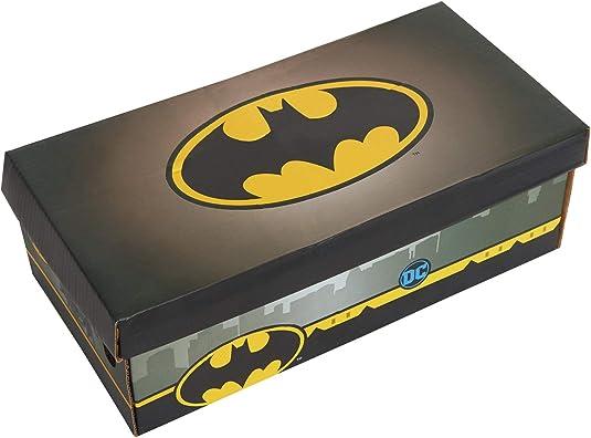 DC Comics Batman - Zapatillas deportivas para niños 3D de fácil fijación: Amazon.es: Zapatos y complementos
