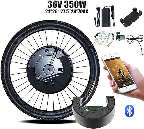 GJZhuan Kit de conversión eBIKE 36V350W Imotor 3 Kit De Conversión De Ebike Kit 26700C 27.529 DC Rueda Delantera Bici del Motor Eléctrico Kit Bicicleta Eléctrica 2020: Amazon.es: Hogar