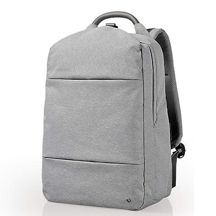 Mochila para computadora portátil, bolso para computadora de viaje para damas y caballeros, bolso