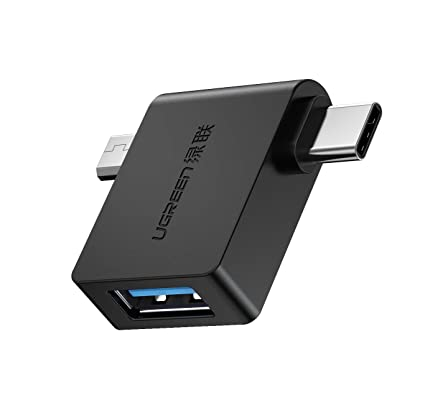 Amazon com: UGREEN OTG Adapter 2-in-1 Type C Micro USB OTG
