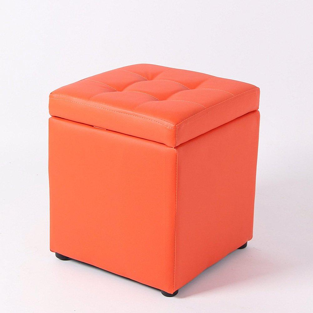 10   XING-ZI-stool C-K-P Tabouret De Sofa, Mode pour Tabouret De Chaussure, Tabouret De RangeHommest, Tabouret en Cuir, Repose-Pieds, Tabouret De RangeHommest, Tabouret De Robeing (Couleur   1 )