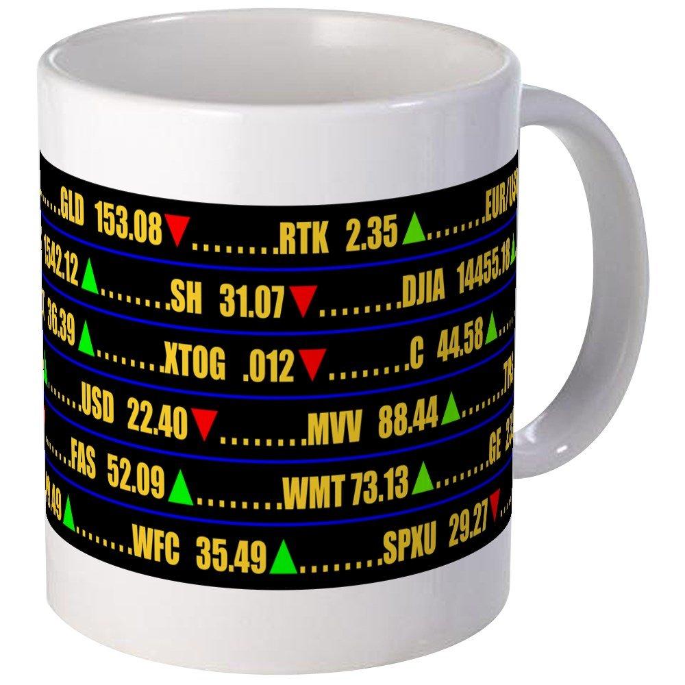 CafePress Ticker Mug Unique Coffee Mug