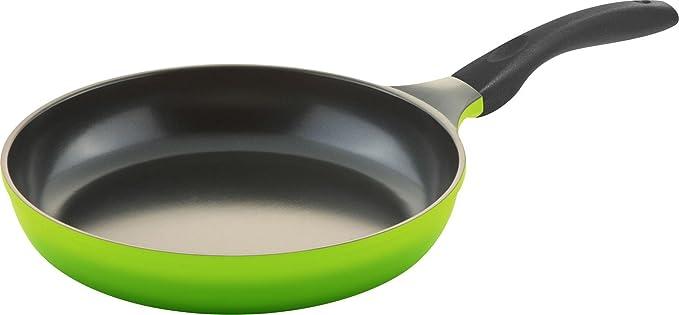 Culinario - Sartén de inducción con Superficie de cerámica ecológica Ecolon (20 cm), Color Gris: Amazon.es: Hogar
