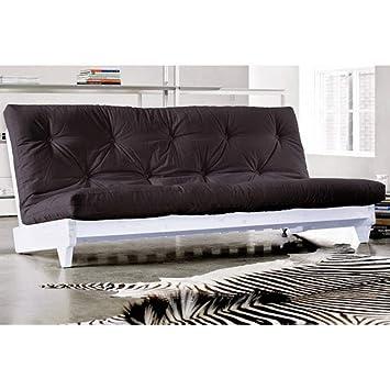KARUP Banqueta para Cama futón Negro Color Blanco Fresh Grey ...