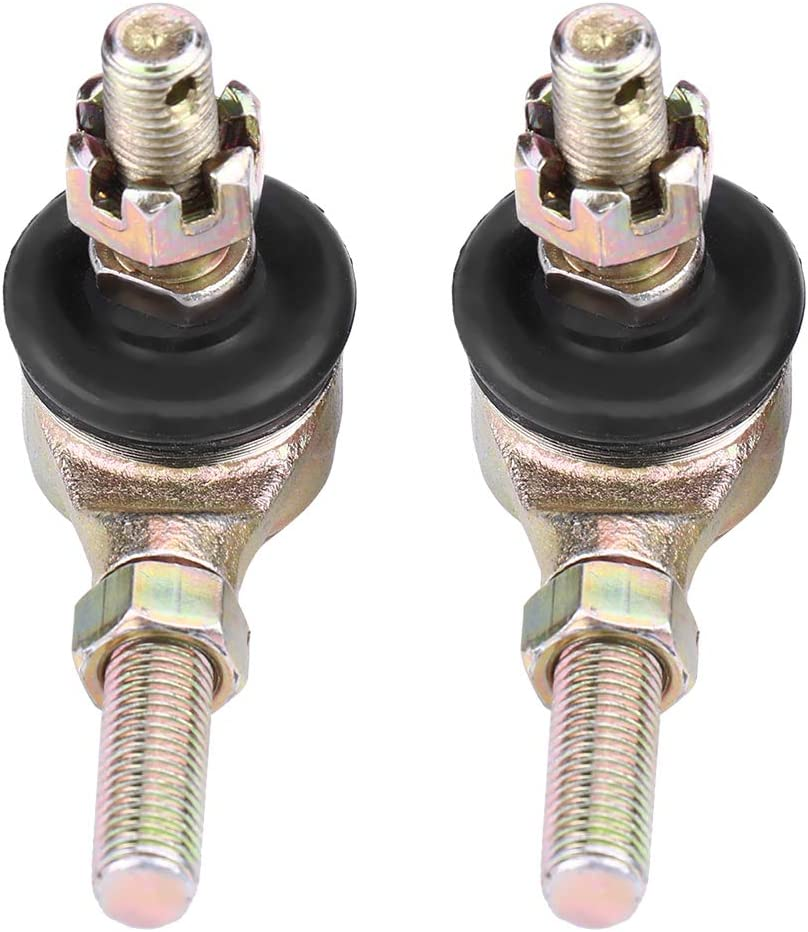 DEALPEAK 2Pcs//Set Tie Rod Ends Ball Joint Connector Kit Universal for 70cc 90cc 110cc 125cc 150cc 200cc 250cc ATV Quad