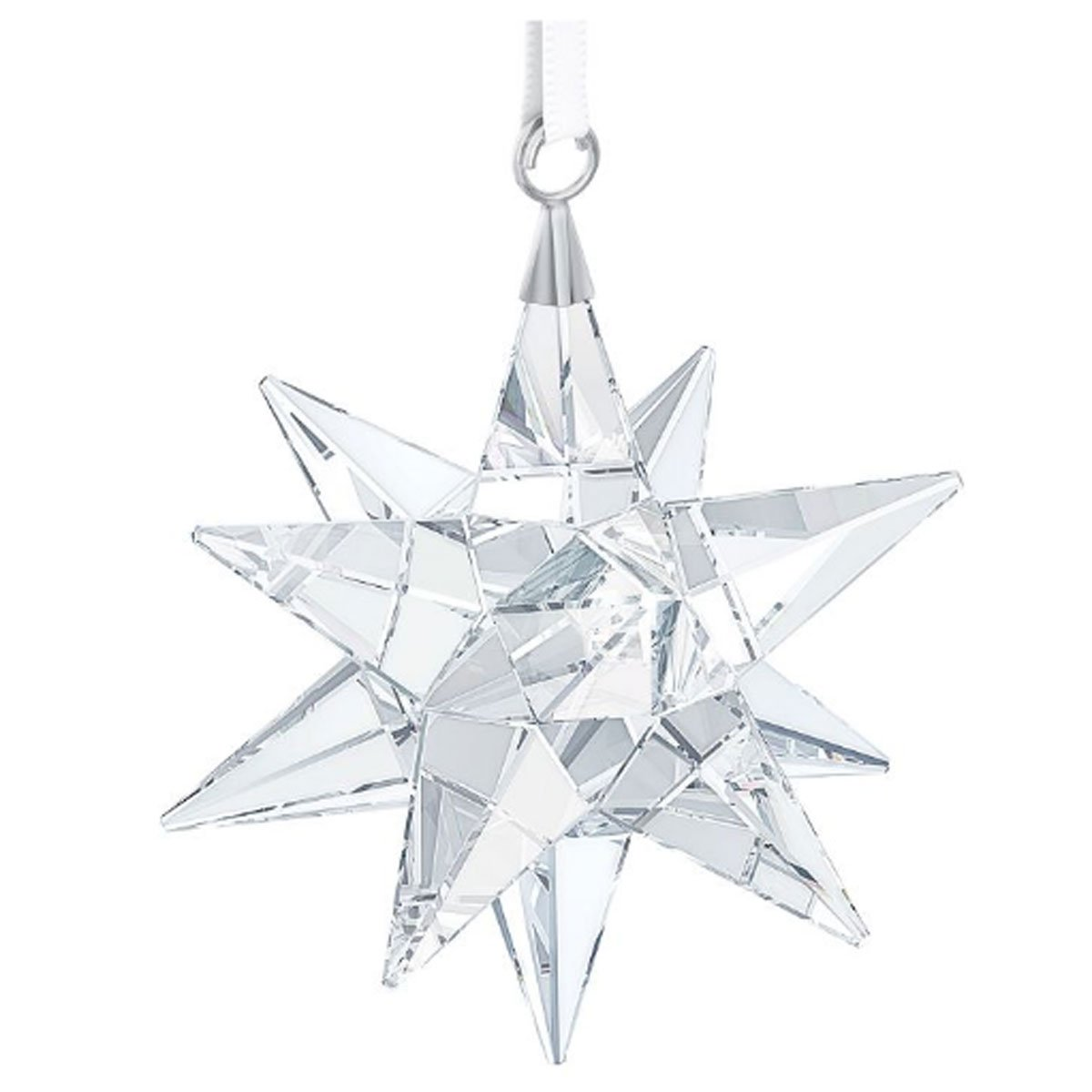 Swarovski 3D Star Ornament, Clear