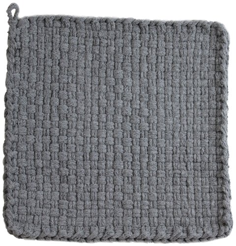 Harrisville Designs PRO 10 Cotton Loops, Silver - Makes 2 Potholders