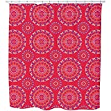 Mandala Kids Shower Curtain: Large Waterproof Luxurious Bathroom Design Woven Fabric