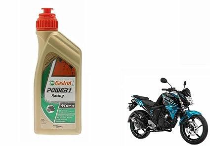 castrol Power1 10W-50 4T 1L Bike Engine Oil for Yamaha FZ-S: Amazon