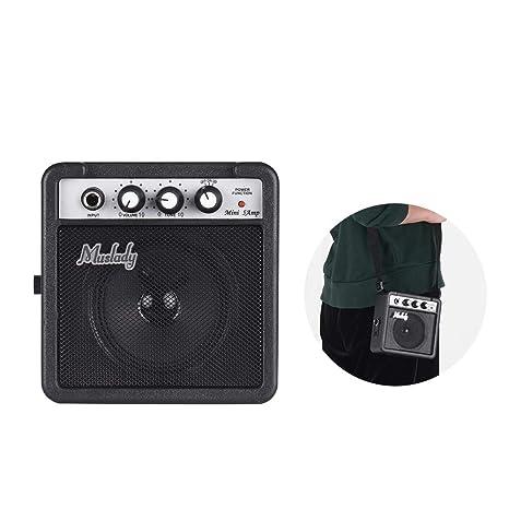 Kalaok 5W Mini Amplificador de Amplificador de Guitarra con ...