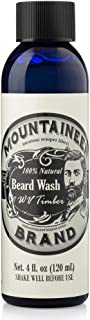 product image for Beard Wash by Mountaineer Brand All-Natural Beard Shampoo - Cleans and Conditions (4 Ounce, WV Timber)