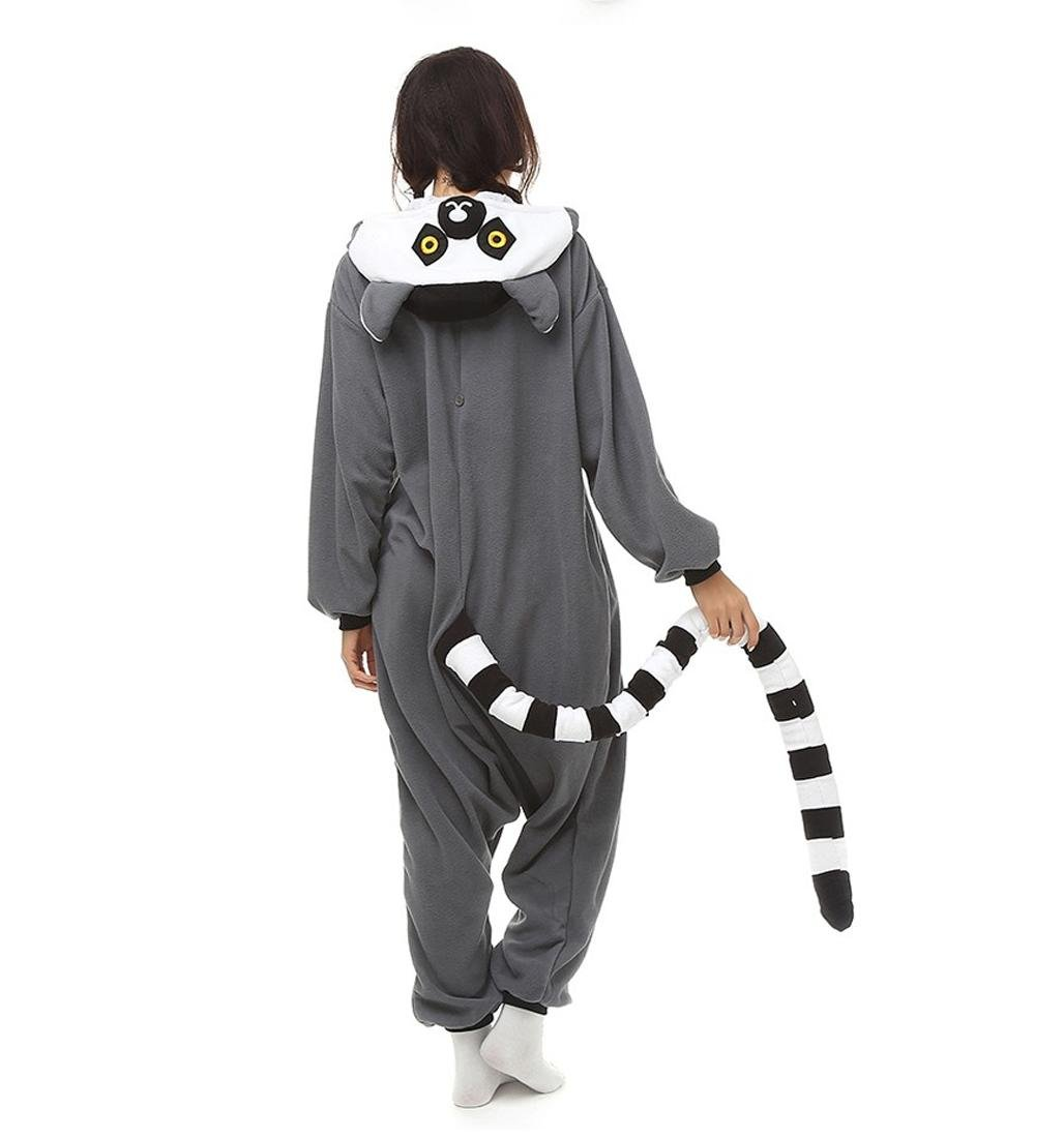 Amazon.com : HYY@ Unisex Pajamas Costume Cosplay Animal kigurumii Onesie Sleepwear For Women Men Adults Long-tailed Monkey pijamas mujer : Sports & Outdoors