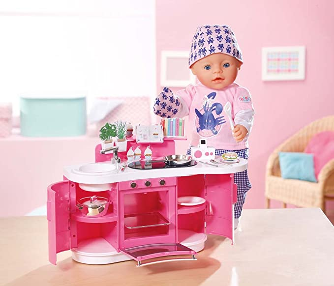 Amazon.es: Baby Born 815755 - Mi Cocina Interactiva (Novedad (Bandai): Juguetes y juegos