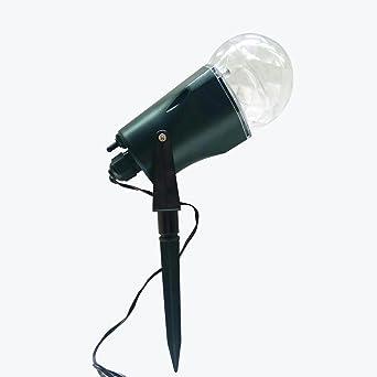 Proyector LED luz llama iluminación decoraciones del Festival foco ...