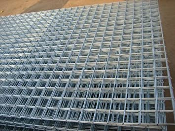 Amazon.com: Galvanised Welded Wire Mesh Panel 1800(6\')x900(3 ...