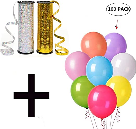 500 YARD BALLOON CURLING Baloon RIBBON 15 Colours Available Party Decor Ribbon