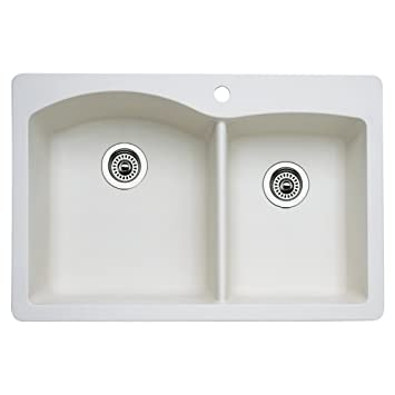 Blanco 511 605 Diamond 1 3 4 Bowl Kitchen Sink Biscuit Finish