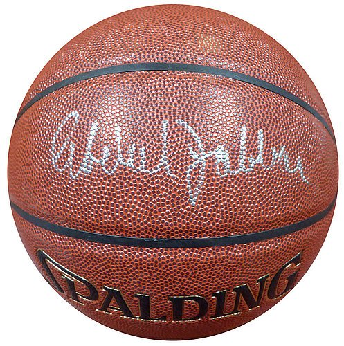 Kareem Abdul-Jabbar Signed Spalding Zi/O Basketball - Certified Genuine Autograph By PSA/DNA - Basketball Collectible